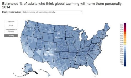 Global Warming will effect me personally.
