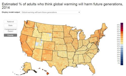 Global Warming will be harmful to future generations.