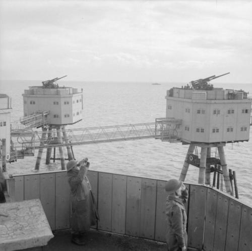 Maunsell Sea Fort, Operational in WWII
