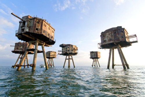 Maunsell Sea Fort, Abandoned Today