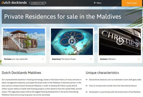 Maldives sales in process.