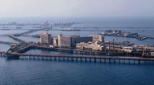 Soviet Oil Rocks City, Baku, Azerbaijan