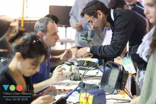 "Tikkum Olam ""Makeathon"" for the Disabled"