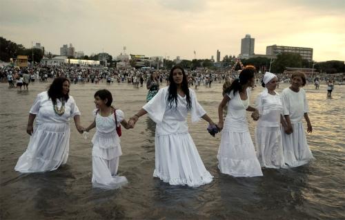 Lemanja Festival in Brazil
