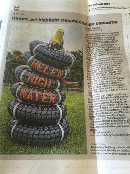 Helen High Water newspaper