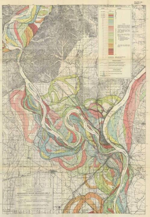 Harold Fisk 1944 Mississippi Map2